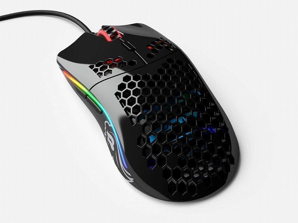穴だらけマウスがさらに軽く。58gの超軽量マウス「Model O-」が発売