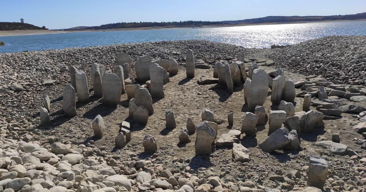 Drought exposes long-submerged 'Spanish Stonehenge' monument
