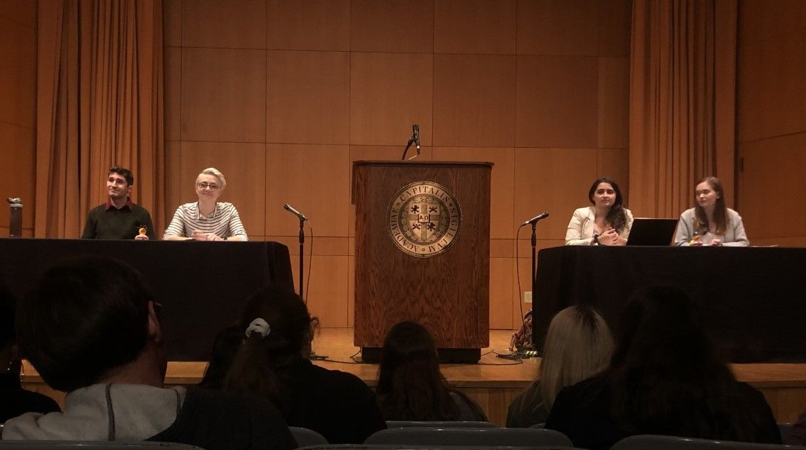 British National Debate Team visits Capital  This week Capital University's debate team faced visiting debaters from the United Kingdom.   Read about this special event here: https://buff.ly/32pVwYA  #CapFam #Debate #CollegeDebate #Democracy