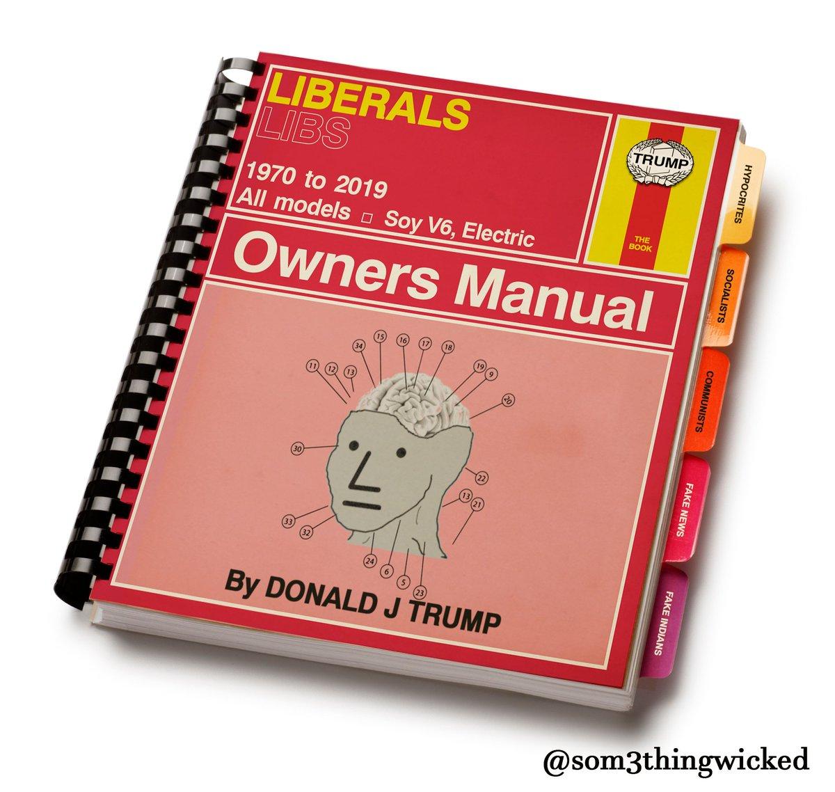 @TrumpWarRoom POTUS already owns the libs. He may break Antitrust law once he owns CNN, too.