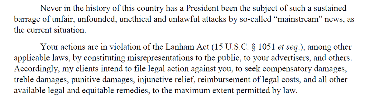 Attorney Charles Harder, who took down Gawker and represents Trump, has sent a letter to CNN President Jeff Zucker based on recent James O'Keefe videos. It issues this warning: