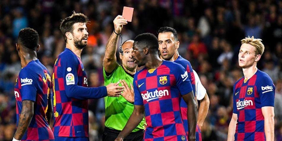 Dembélé et Piqué ont manqué un entraînement du Barça