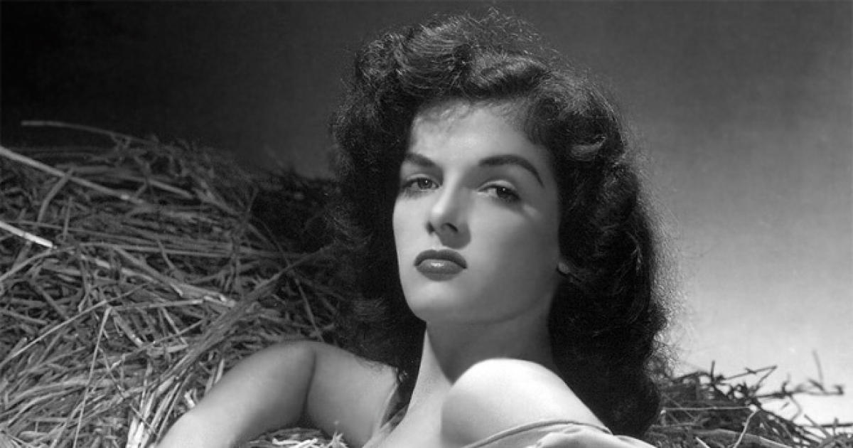 Jane Russell Sexy Vintage Photo