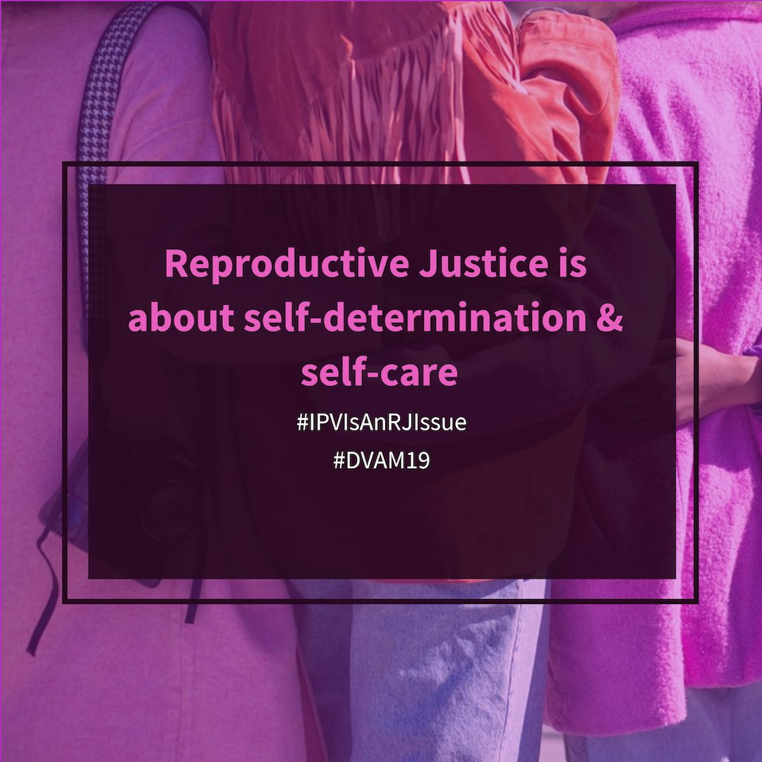 Supporting survivors means we need to create space for them to take care of themselves in ways that are best for them. #IPVIsAnRJIssue #DVAM19