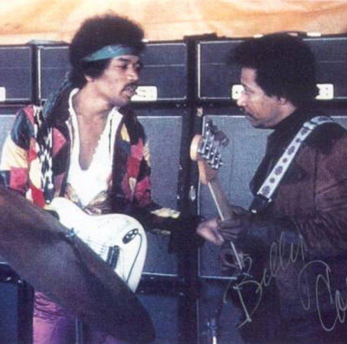 Happy 78th Birthday to legendary Jimi Hendrix bassist Billy Cox!