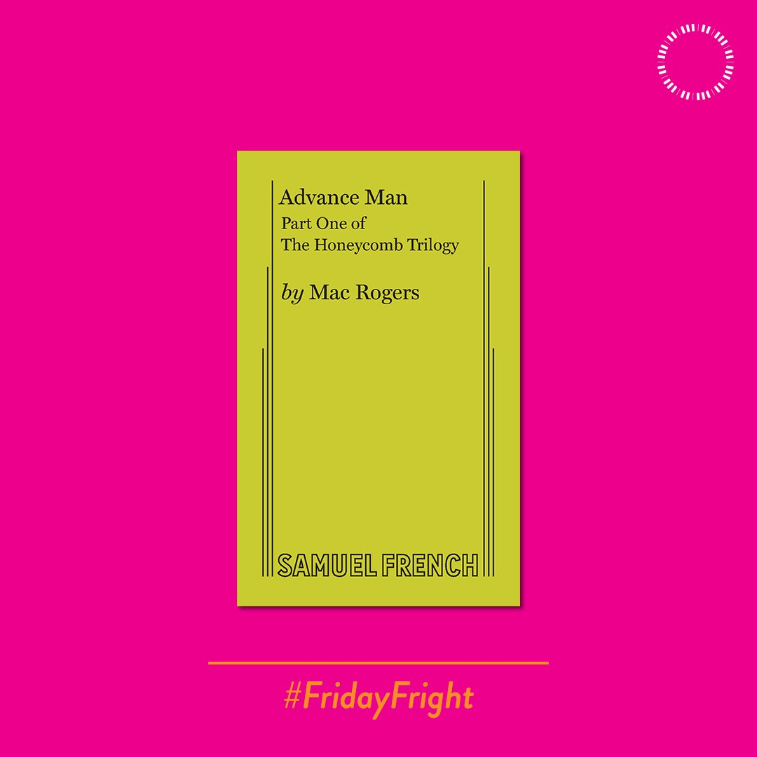 Why settle for one #FridayFright, when you could have three? The Honeycomb Trilogy by @macwrites is a set of three full length plays set in the same universe about humanity fighting for its survival against an alien species. Get your copies at samfren.ch/ShopHoneycomb!