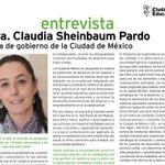 "Image for the Tweet beginning: 🇲🇽 @Claudiashein: ""Ser la primera"