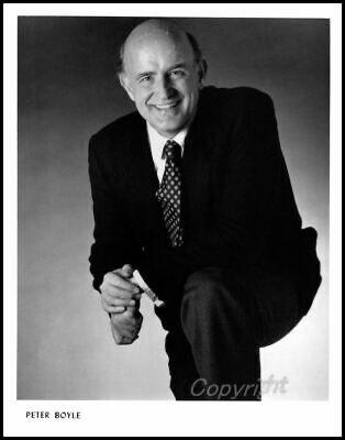 Happy Birthday & RIP Peter Boyle (1935-2006).