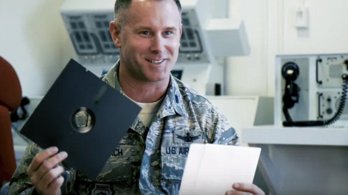 U.S. military will stop using floppy disks to operate its nuclear weapons
