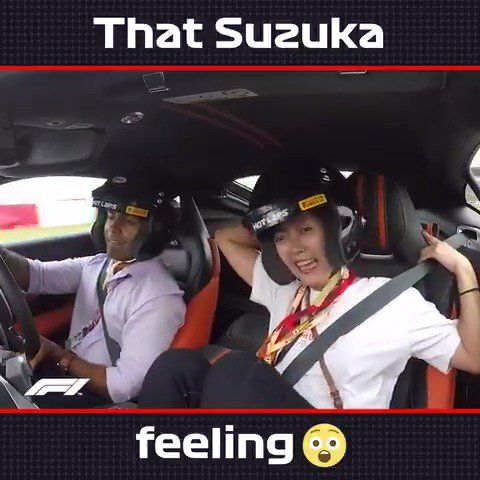 Those #F1PirelliHotLaps are not for the faint-hearted! 🤯  #JapaneseGP 🇯🇵 #F1