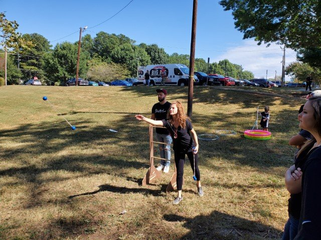 test Twitter Media - Our Employee Appreciation Cookout in Alpharetta, GA was an event to remember. The children loved getting their faces painted, and many of the adults played some good ol' fashioned corn hole games! Here are a few pictures of our family and friends.   #FamilyFun #SpacePole https://t.co/pqFchvrfMC