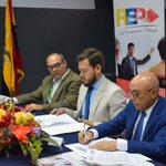 Image for the Tweet beginning: #Trabajamosjuntos|🤝  Firmamos un nuevo convenio de