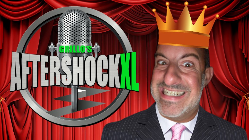 ⭐️Grillo's AfterShockXL⭐️💥Sunday @ 6pm EST💥with Special Guest..• Chris Morgan @ChrisMorganKing 👉http://youtube.com/channel/UCeRDj …✅Subscribe 2 Watch✅http://youtube.com/BattleChats?su …#Podcast #sternshow #howardstern #bagelguy #angrybagelguy #ff #PodernFamily #JimandSam #jimnorton