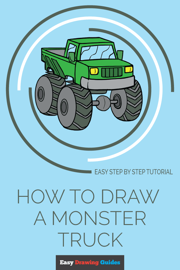 Easy Drawing Guides On Twitter Learn How To Draw A Monster Truck Easy Step By Step Drawing Tutorial For Kids And Beginners Monstertruck Drawingtutorial Easydrawing See The Full Tutorial At Https T Co V0bnz1ioaz Https T Co R8i1n1bsbx