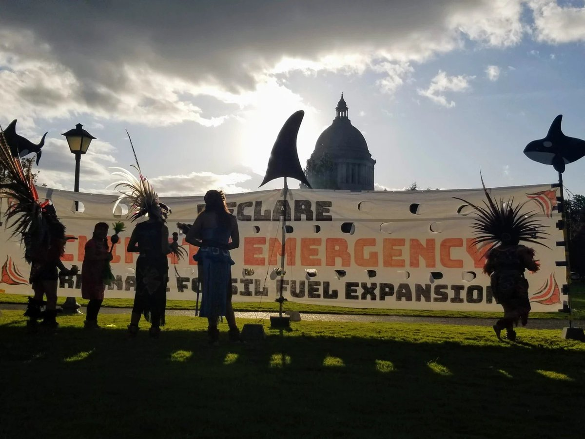 Could Washington be the first state in the US to declare a climate emergency?