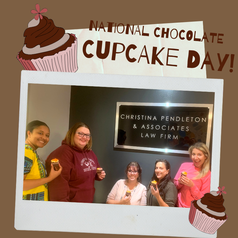 After a successful week assisting clients, we decided to celebrate #NationalChocolateCupcakeDay with some of our paralegals. What are your favorite cupcake flavors?