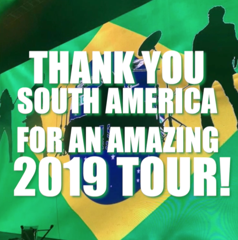 Image for the Tweet beginning: Our South America tour ROCKED!