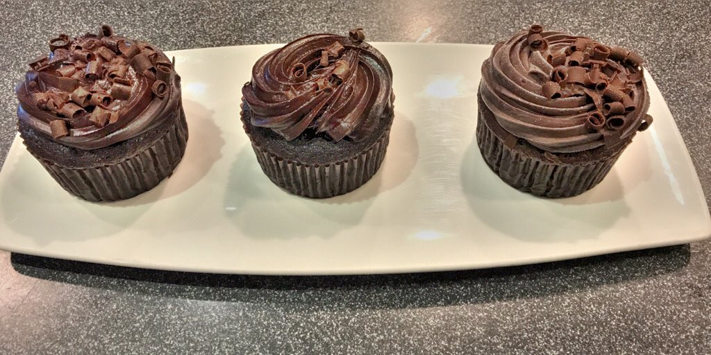 It's #NationalChocolateCupcakeDay! Stop into the #BNCafe and grab a Godiva Blackout Chocolate Cupcake and to celebrate we're offering a $1 off these delicious treats @bnmonroeville!