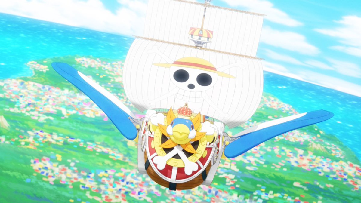 New One Piece: Stampede Movie Clip Reveals Thousand Sunny's Penguin Form - GameSpot