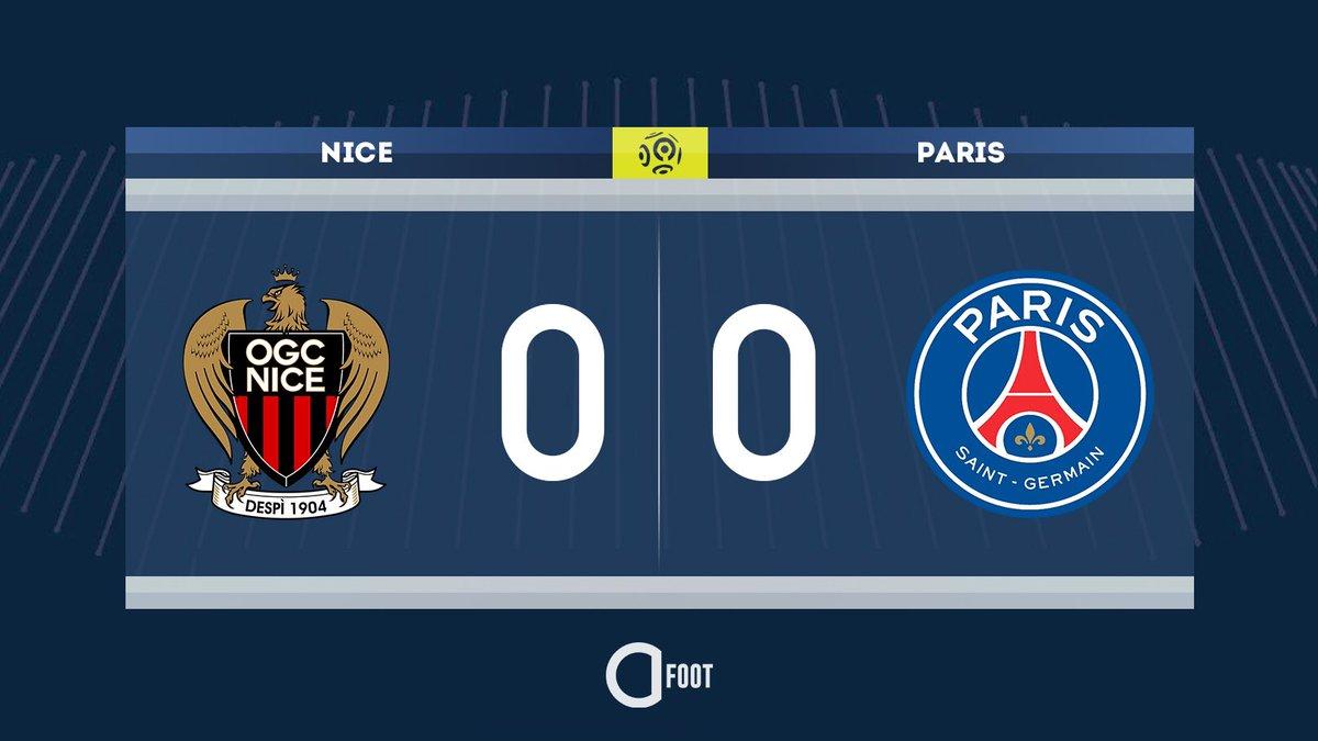 ⏱ C'est parti entre Nice et le PSG.