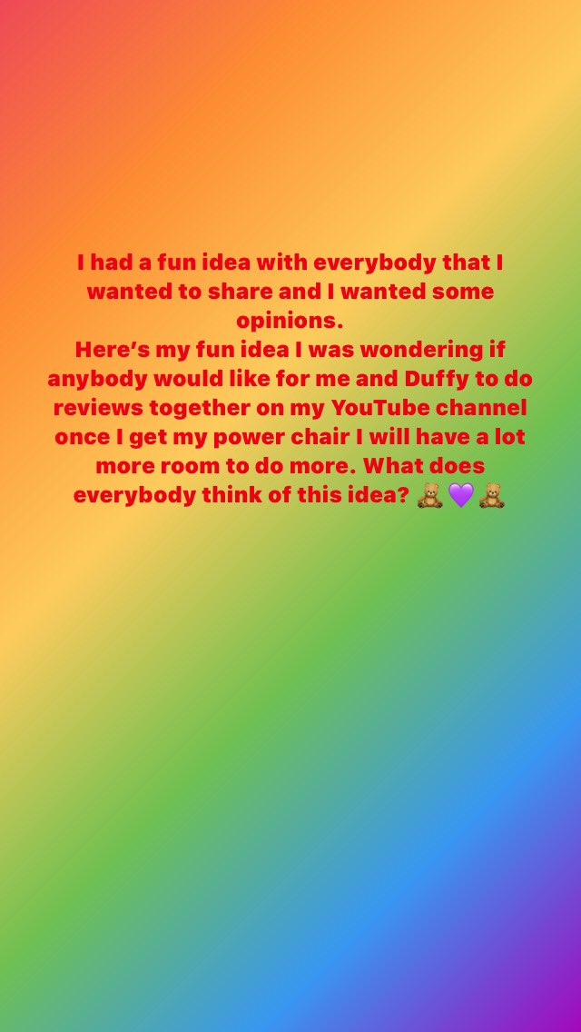 I just wanted to share this fun idea with everybody to get some opinion #duffythedisneybear @YouTube #funvideos #NewVideos #disneyears #MAGIC