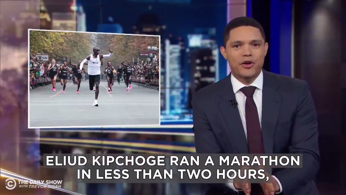 Image for the Tweet beginning: Was Eliud Kipchoge able to