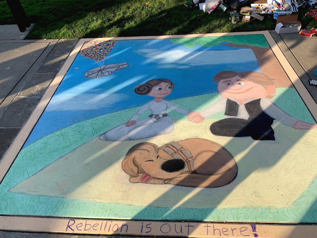 Adventure is out there – and you dont have to travel to a galaxy far, far away to find it! Check out some of the incredible pieces featured at the 2019 Lucasfilm Sidewalk Chalk Art Festival.