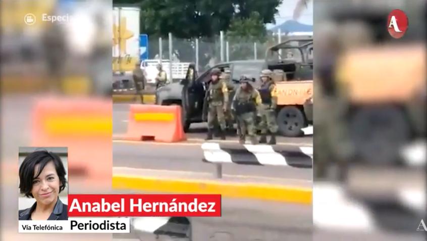 Veo cosas que no corresponden a la fuerza de los hijos del El Chapo: Anabel Hernández http://ow.ly/iZPu30pK0Vp