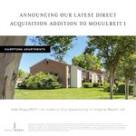 We are excited to announce that we are continuing to grow our direct acquisitions business with Hamptons Apartments as the newest addition to MogulREIT I. Consider adding this value-add multifamily opportunity to your portfolio by investing in MogulREIT I: https://t.co/oX2RMc0AmE