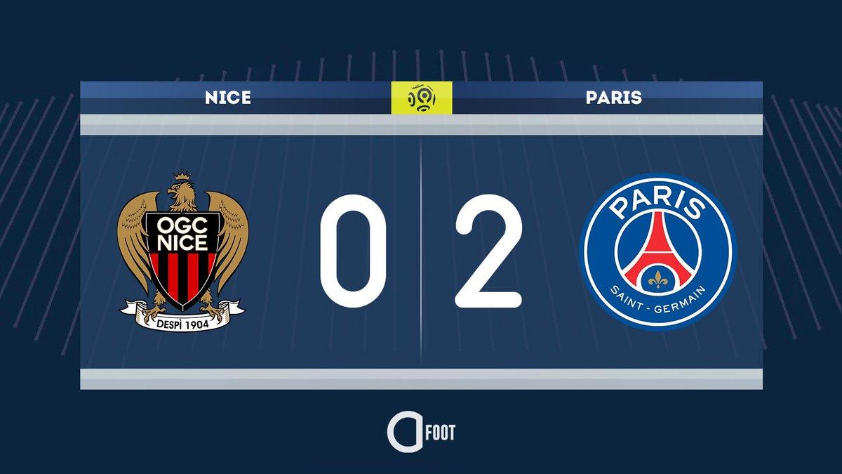 ⏱ MI-TEMPS ! NICE 0-2 PARIS