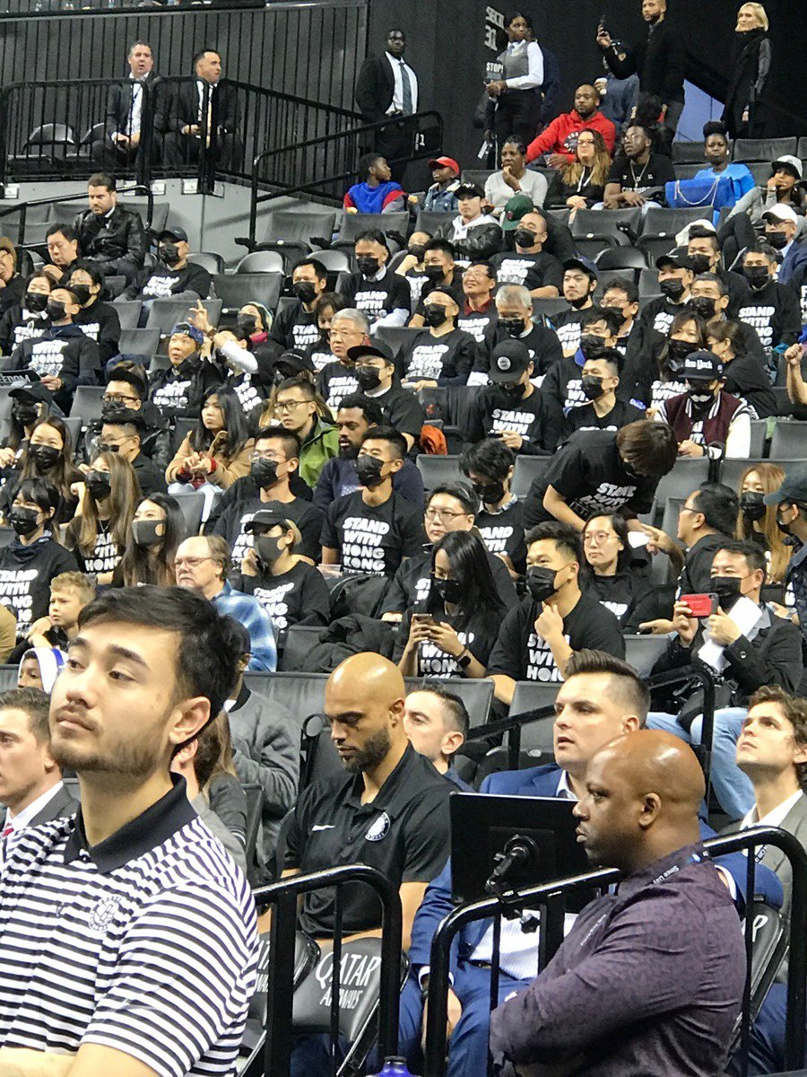 Chinese state media threatens Adam Silver with 'retribution' as Nets fans stage protests