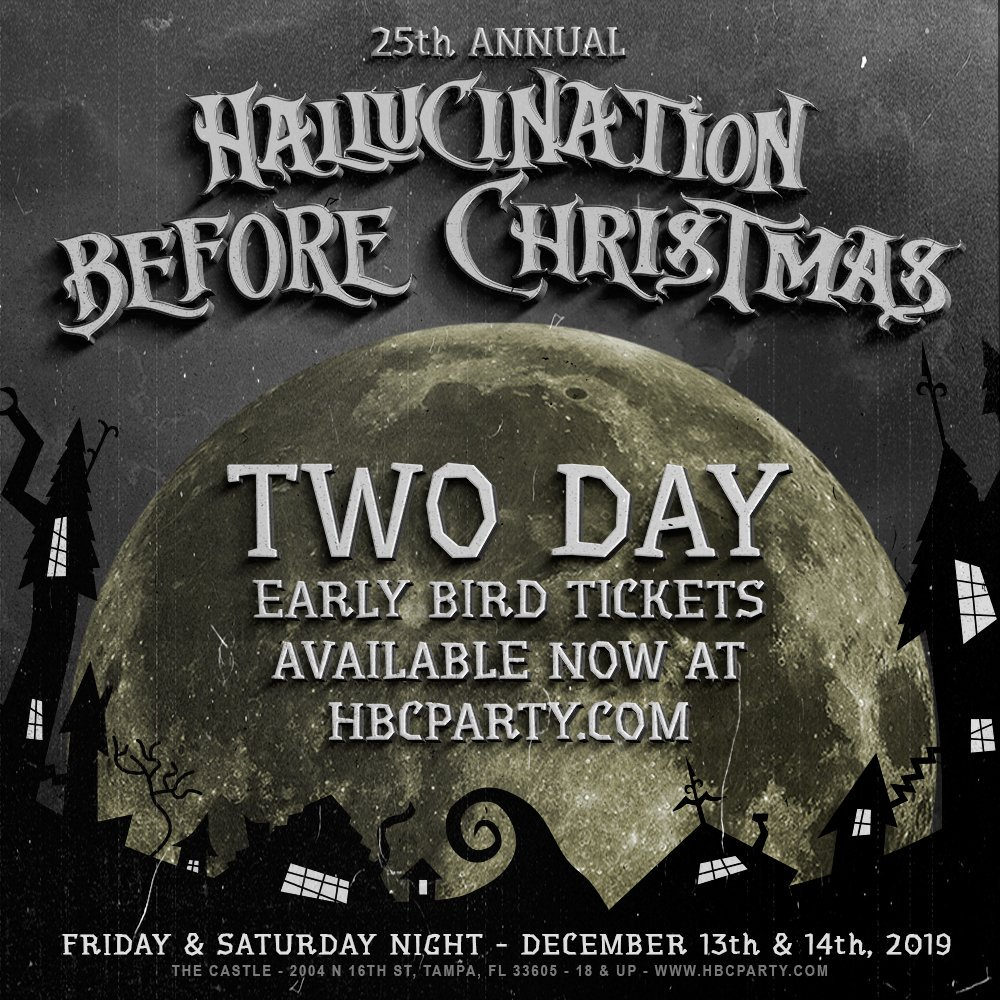 Hallucination Before Christmas 2021 Hallucination Before Christmas Hbcevent Twitter