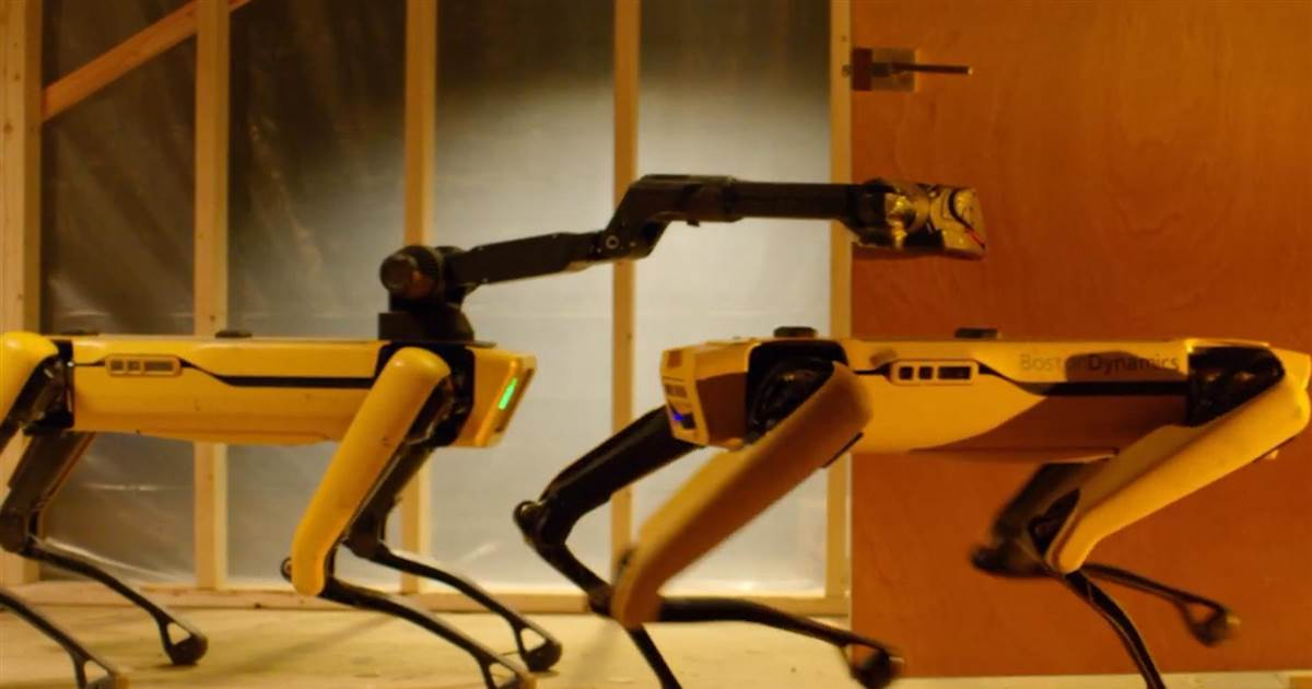 Boston Dynamics' 4-legged robot Spot could be coming to an office near you