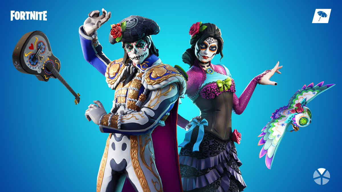 Celebrate the unknown.  Grab the Muertos Set in the Item Shop now! <br>http://pic.twitter.com/4fmILCI85s