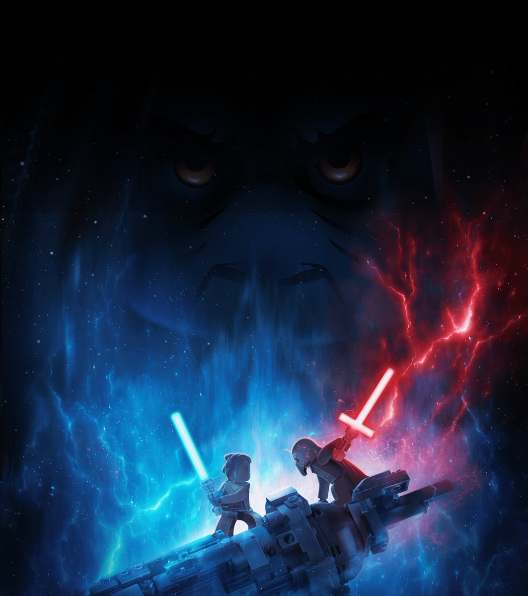 Zcure1 On Twitter Lego Variant Of The Teaser Poster For Star Wars The Rise Of Skywalker Lol I Think All The Teaser Variants Are Out Now So Bring On The Theatrical Poster