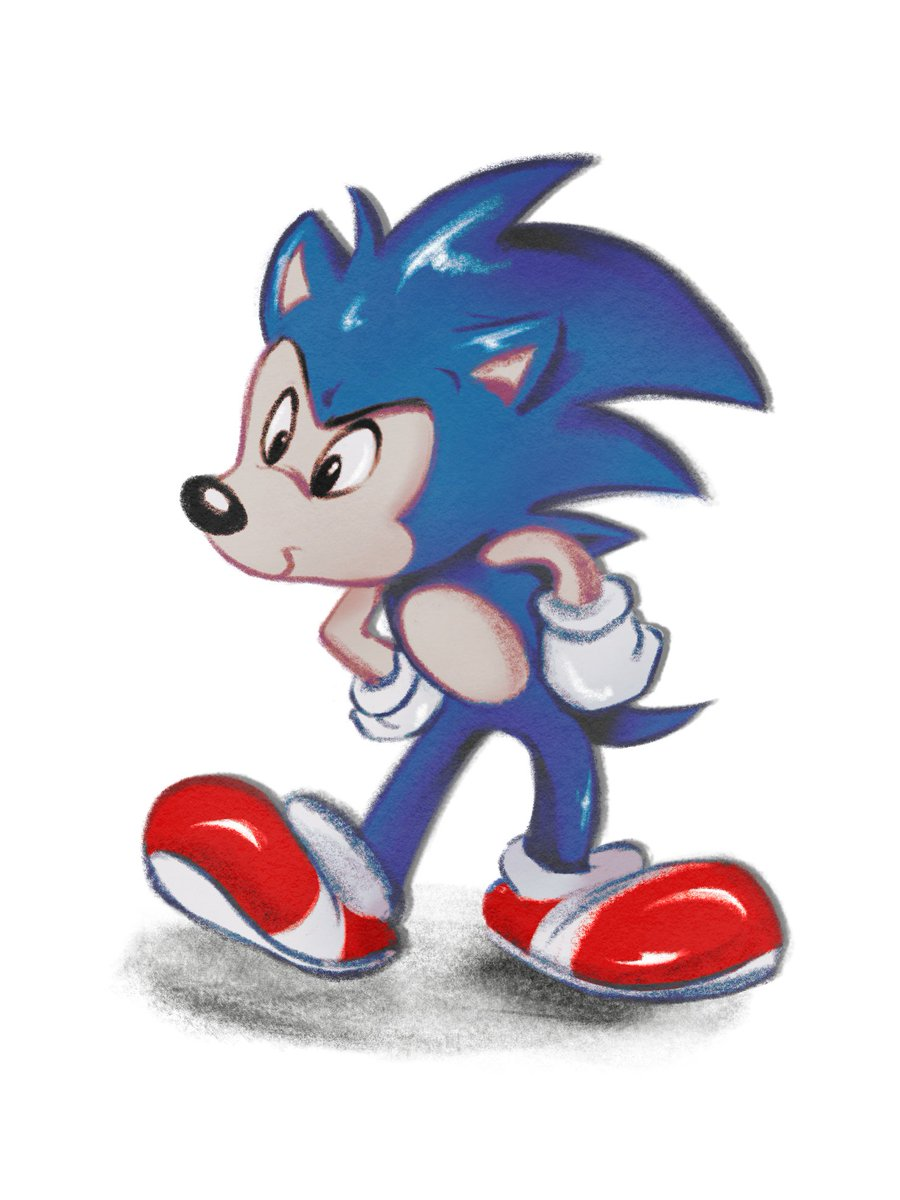 Neight On Twitter Sonic Meets Old Disney Style A Quick Test Of The Procreate App On Ipad Sonic Hedgehog Sega Disney Cartoon Fanart Procreate Ipad Vhs Style Anotherweirdpictureofsonic Https T Co Vjc7iyqqic