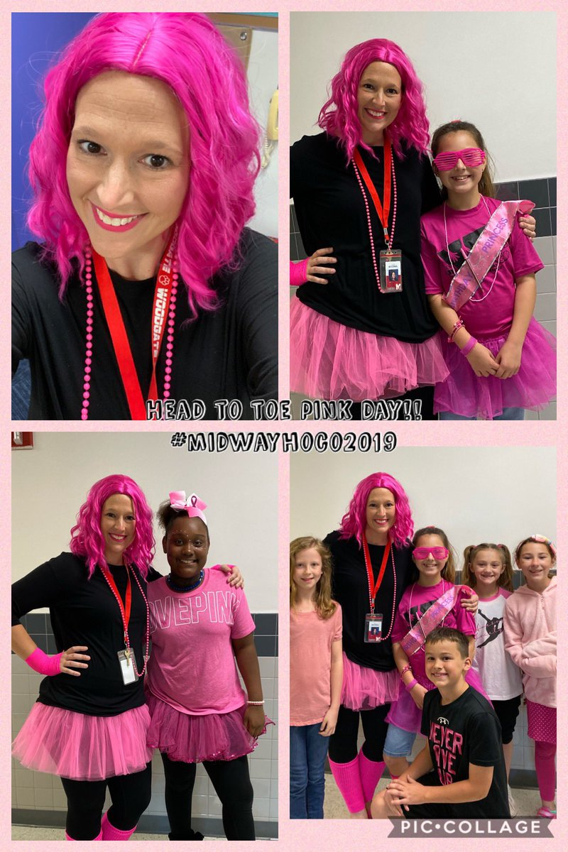 Pink Out day! We had a fun day! #great2bwoodgate #itsgreat2bwoodgate #midwayandbeyond @woodgatemisd