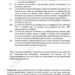 Image for the Tweet beginning: Más prohibiciones... Y sanciones. . . . #Cannabis #Regulacion #Preproyecto