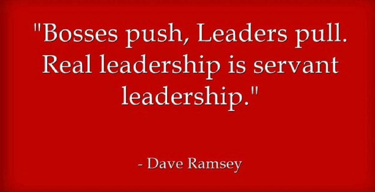 Are you a Boss, a Leader, or a Servant-Leader? Your answer matters.