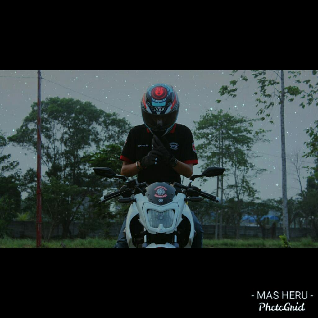 Setiap manusia punya kelebihan dan kekurangan, jadikan kekuranganmu menjadi kelebihanmu #bringasindonesia #memberkecebringas #brotherhoodingaspalembang #bringasmilitant #instadaily #likeforfollow #likeforlike #follow4follow #natural #riding #fun #love #instagood #me #PhotoGrid