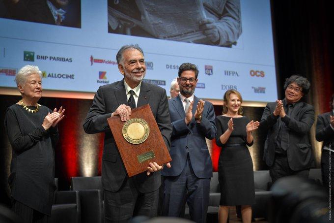 Francis Ford Coppola Prix Lumière