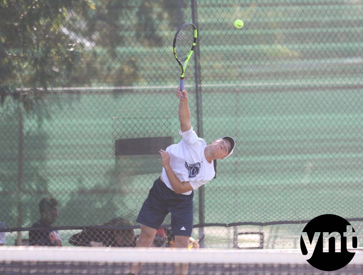 York's Ty Schneider was runner-up at Class B No. 1 singles on Friday. #nebpreps <br>http://pic.twitter.com/imce7yVCkv