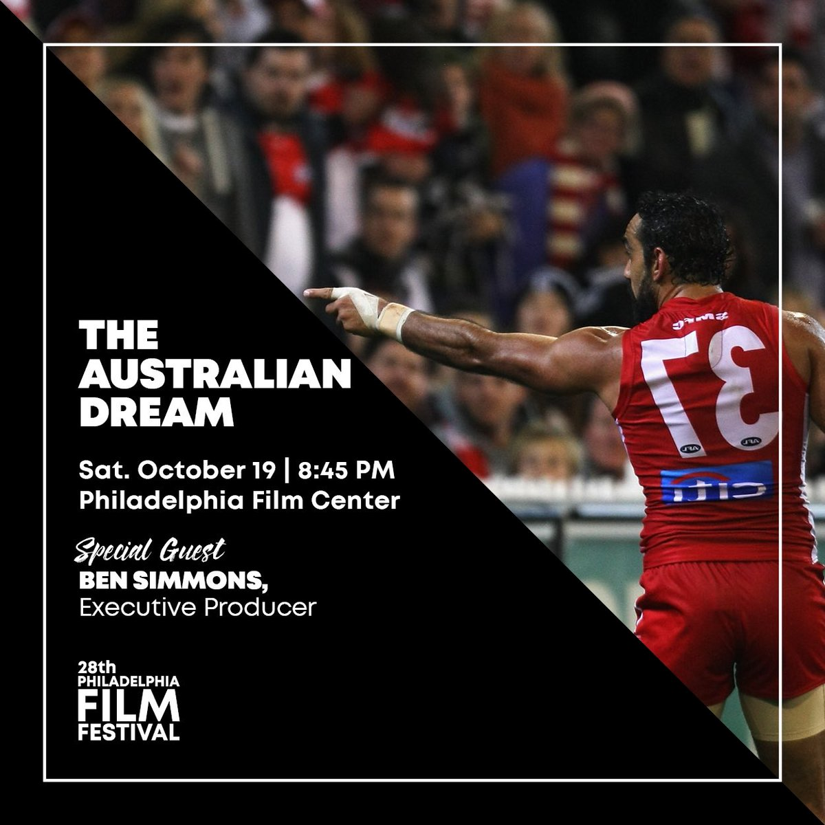 I'm really excited to be screening @AusDreamFilm at the @PhillyFilmSoc tomorrow night. To see the film with me tomorrow night visit -  https://t.co/svURg7MfC7 https://t.co/r3tONizNdm