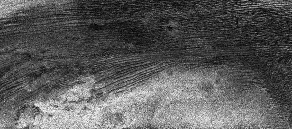 Cosmic rays may have blasted gigantic sand dunes into existence on Saturn's moon Titan