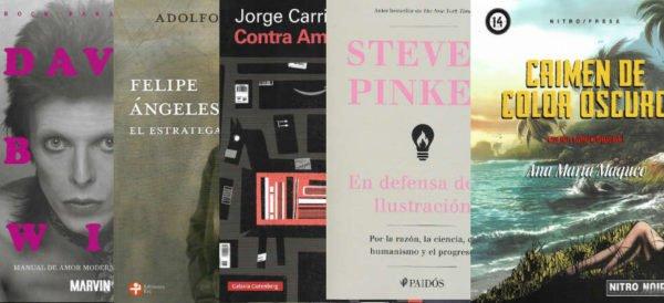 #Libros de la semana: Maqueo, Pinker, Carrión y más http://ow.ly/iKmr30pK5E6