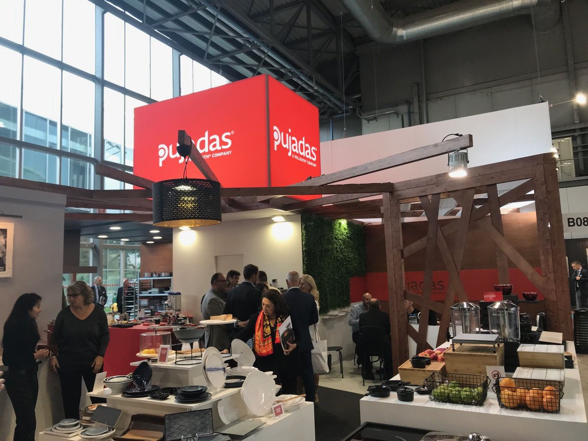 Image for It's been a jam-packed Day 1 at #Host2019 for Pujadas and Vollrath as they showcased their exceptional range of cookware, utensils, display ware & trolleys! Be sure to drop by throughout