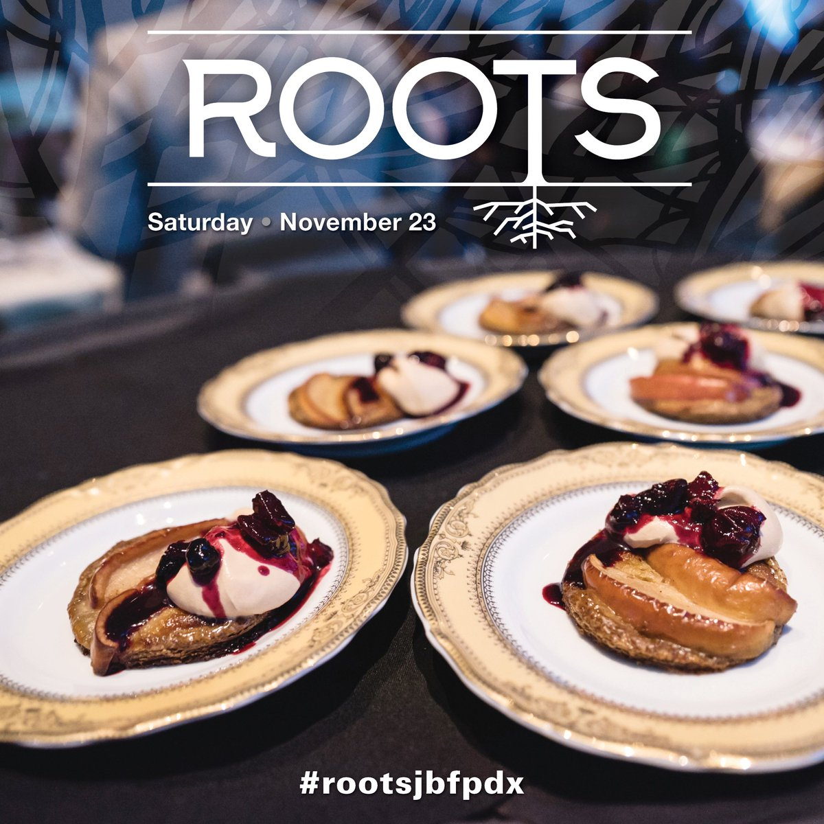 Have dinner with us! We're teaming up with 11 James Beard recognized chefs for ROOTS, a dream dining experience on 11/23 at @TheNinesHotel. Ft. Stumptown coffee, cocktails, & a 10-course dinner. Proceeds benefit @urbangleaners #rootsjbfpdx Tickets here: https://t.co/8LEUTeBuiE https://t.co/3r5rNznEkx