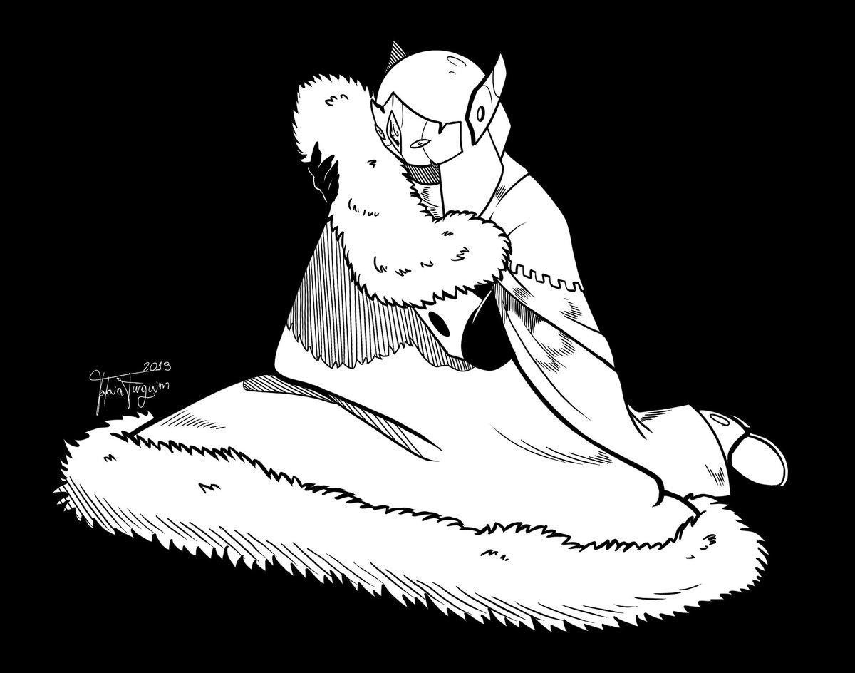 RT @TataiaFurquim: #inktoberday18 #hyperlightdrifter #hld https://t.co/VasM6ec9nz