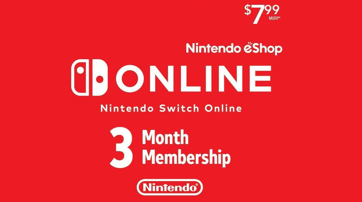 FLASH GIVEAWAY!  RT + follow @Nintendeal for your chance to win 3 months of Nintendo Switch Online! One winner selected October 20, 2019.  Tag a friend! <br>http://pic.twitter.com/b4DfSewPNI