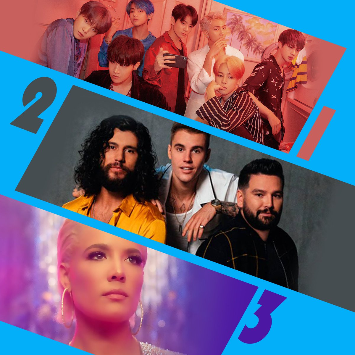 We could listen to Friday's #RDTop3 for 10,000 hours! 1. @bts_bighit #MakeItRight (f. @lauvsongs) 2. @DanAndShay & @JustinBieber #10000Hours 3. @Halsey #Graveyard<br>http://pic.twitter.com/XNFAciqzqU